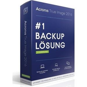 Acronis True Image 2016 für PC & Mac 3-Geräte, Dvd+Key