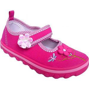American Club Baby Mädchen Ballerinas Hausschuhe Fuchsia Pink