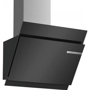 Dwk67Jm60 Wandhaube 60 cm Glas schwarz Abluft oderUmluft , Eek: A+