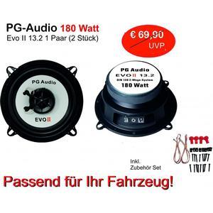 1 Paar PG Audio EVO II, 13 cm Coaxial Lautsprecher , Neu-Ware