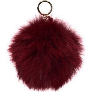 Damen Schlüsselanhänger ´´XXL Fur Pom Pom´´