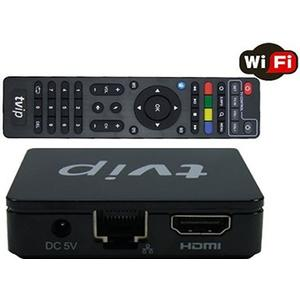 TVIP IPTV HD Box Android o Linux Med WiFi (TVIP S-Box v.412)