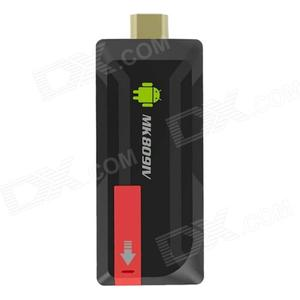 Consumer Electronics MK809IV Android Google TV Player w/ BT£¬ Wi-Fi - Black + Red (US Plugs)