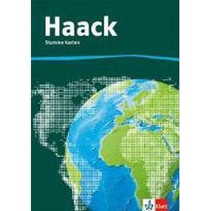 Klett Schulbuchverlag Der Haack Weltatlas Stumme Karten. Allgemeine Ausgabe Sekundarstufe I