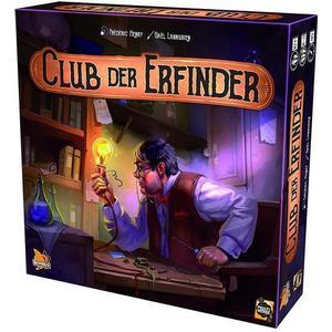 Gaël Lannurien Asmodee BYX0003 - Der Club der Erfinder, Legespiel