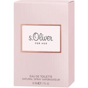 ALIVA-APOTHEKE S.OLIVER FOR HER EDT 50 ml
