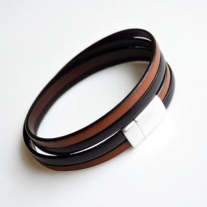 -sefora- Armband Leder braun