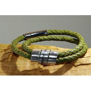 -CIRCLESOFLOVE- Gravur Lederarmband Armband persönlich graviert