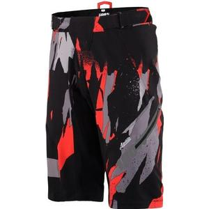 100% Airmatic Camo Short - Black - 32