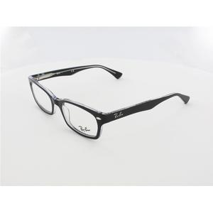 Ray Ban RX5150 2034 52 top black on transparent