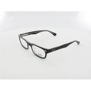 Ray Ban RX5150 small 2034 48 top black on transparent