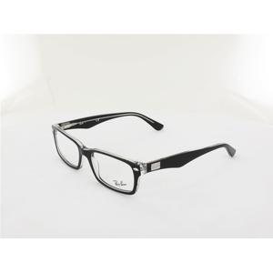 Ray Ban RX5206 2034 54 top black on transparent