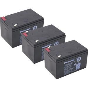 Kompatibler Accu Eco Repti Miniquad Kinderquad ATV 800W 36V 3x 12V 15Ah AGM Blei