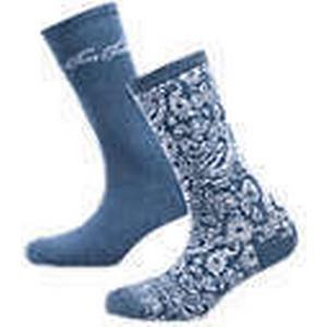 2 Paar Socken blau