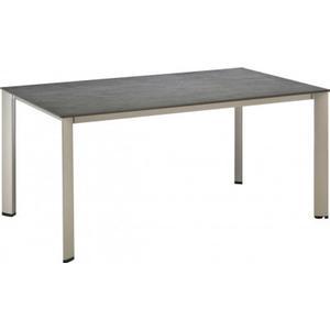0 Kettler Kettalux-Plus Dining-Tisch 160x70 cm Edge 0101920-0500