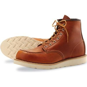 Red Wing Shoes Style no 875 6´´ Classic Moc Toe - Oro Legacy Leather, Red Wing