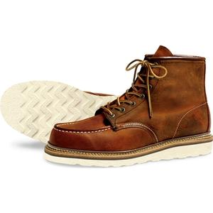 Red Wing Shoes Style No 1907 Classic Moc Toe - Copper, Red Wing