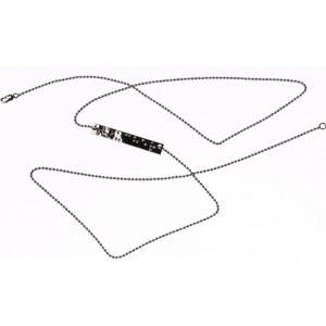 :BRAÏ Jewellery Lange Kette mit Brailleschrift-Anhänger
