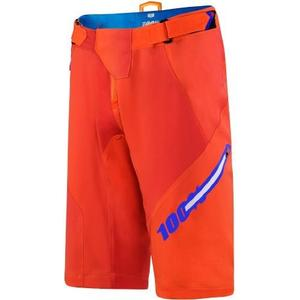 100% Airmatic Blaze Short - Orange - 32