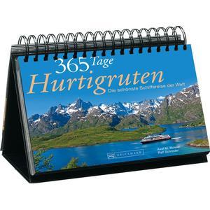 Bruckmann 365 Tage Hurtigruten - Immerwährender Kalender -Tischaufsteller