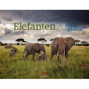 Ackermann Kunstverlag Elefanten 2018 / Kalender