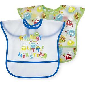 Babies ´R´ Us Babies R Us – 2er Pack Lätzchen Monster