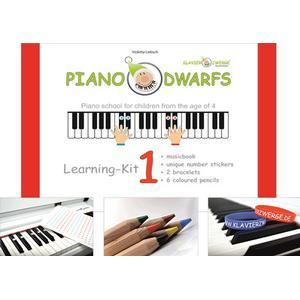 Klavierzwerge Piano Dwarfs Learning Kit 1