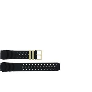 Kautschuk Andere Marken Uhrenarmband CIT3MG Gummi Schwarz 20mm