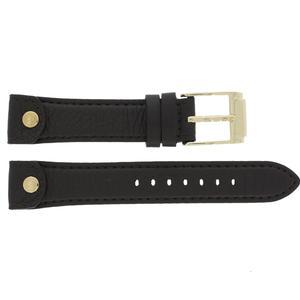 Leder Michael Kors Uhrenarmband MK-2166 Leder Braun 18mm