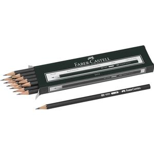 12 FABER-CASTELL 1111 Bleistifte 2B