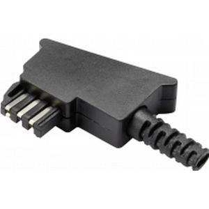 1229658 TAE-Bausatz Stecker, gewinkelt F-Kodierung GM02F Schwarz Components Inhalt: 1 St.