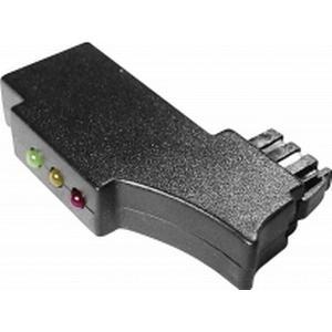 1164063 TAE-Prüfstecker mit Status-LEDs Schwarz Inhalt: 1 St.