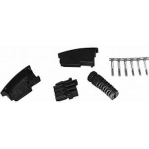 1164065 TAE-Bausatz Stecker, gerade N-Kodierung Schwarz Inhalt: 1 St.