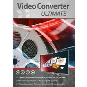 2714 Markt & Technik VideoConverter Ultimate Vollversion, 1 Lizenz Windows Videobearbeitung