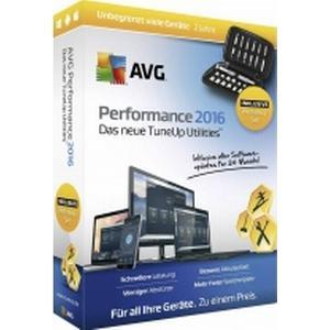 02818 AVG Performance 2016 Sommer Edition Vollversion, unbegrenzte Geräteanzahl Windows, Mac, iOS, Androi