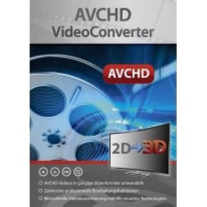 2756 Markt & Technik AVCHD VideoConverter Vollversion, 1 Lizenz Windows Videobearbeitung