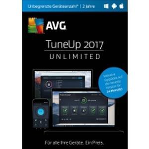 02852 AVG TuneUp Unlimited 2017 Vollversion, unbegrenzte Geräteanzahl Windows, Android, Mac Systemoptimie