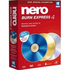 1021284 Nero Burn Express 4 Vollversion, 1 Lizenz Windows Brenn-Software