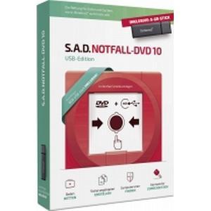 02870 S.A.D. Notfall-DVD 10 Vollversion, 1 Lizenz Windows Backup-Software