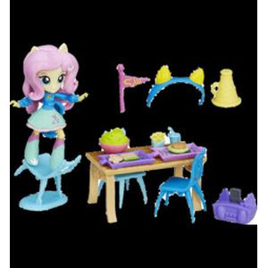 MY LITTLE PONY Equestria Girls små dockor pyjamaspartyset, Fluttershy