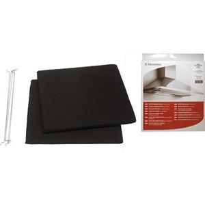 Aeg Kohlefilter 285x245mm (eckiger Aktivkohlefilter) für Dunstabzugshauben 50294684001