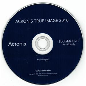 Acronis True Image 2016 1 PC/Mac, DVD+KEY+Handbuch