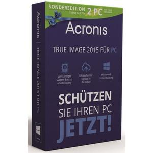 Acronis True Image 2015, 2-Pc (1+1), Limited Edition