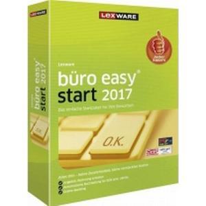 00978-0010 Lexware Büro easy 2017, Jahresversion (365-Tage) Vollversion, 1 Lizenz Windows Büroorganisation, K
