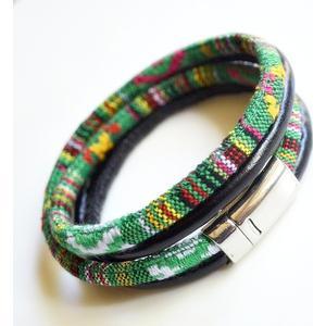 -sefora- Armband grün Zinn