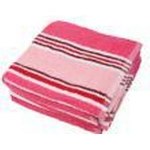 1-2-3.tv 4x Superflausch Handtuch Streifendesign