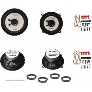 Alfa Romeo 145, Lautsprecher Boxen, Tür vorne und hinten, PG Audio