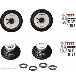 Alfa Romeo 147, 159, Brera, GT, Lautsprecher Boxen, Tür vorne und hinten, PG Audio