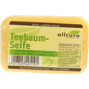 allcura Naturheilmittel GmbH TEEBAUM SEIFE 100 g