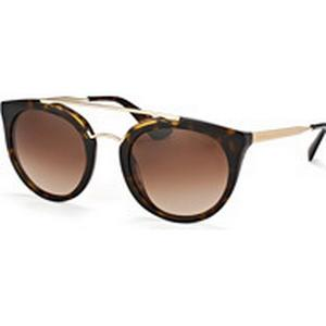 Luxottica Fashion Brillen Vertriebs GmbH Prada Cinema PR 23Ss 2Au-6S1, Aviator Sonnenbrillen, Goldfarben